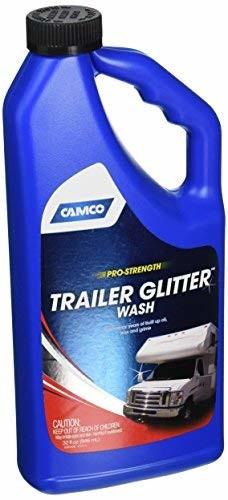 Camco 40603 32oz RV Trailer Glitter Wash Cleaner