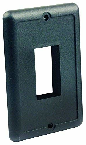 JR Products 14035 White Furniture Switch Face Plate