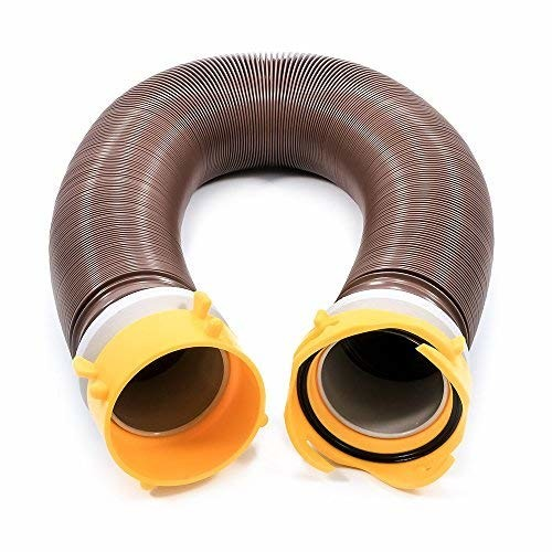 Camco 39623 Revolution 10' Heavy Duty Vinyl Sewer Hose Extension