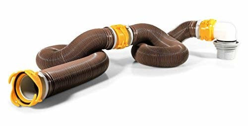 Camco 39625 Revolution 20' Heavy Duty Sewer Hose Kit