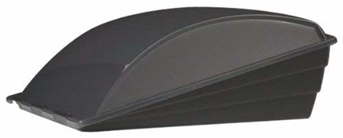 "Camco 40711 Aero-flo 14"" x 14"" Black Vent Cover with Removable Lid"