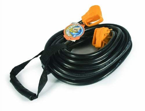 Camco 55197 PowerGrip 30A 50' Extension Cord with Handles