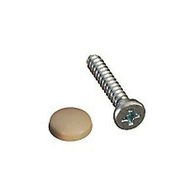 RV Designer H619 Dashboard Screws & Beige Cover Snaps - 14pk