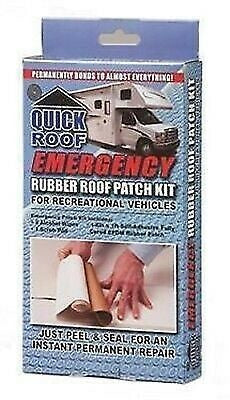 "CoFair Products RR612 6"" x 12"" Rubber Roof Emergency Patch Kit"