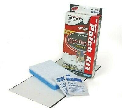 Camco 41461 Pro-Tec Rubber Roof No-Leak Patch Kit