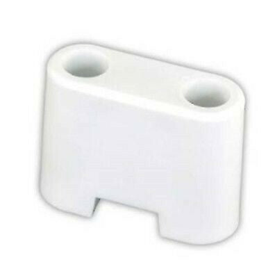 JR Products 10685 Polar White T-Style Door Holder Bumper