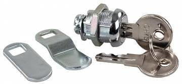 "JR Products 00305 5/8"" Ch751 Keyed Compartment Door Cam lock - 1pk"