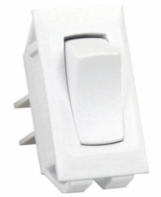 JR Products 13395 White On/Off Switch