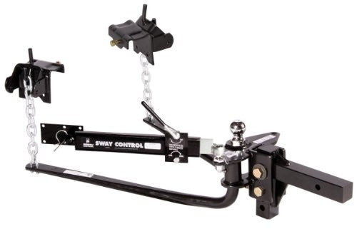 Round Bar | 1200lb Weight Distribution | Hitch | Sway Control | Husky | 30849
