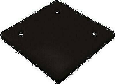 "JR Products 547BK 4-3/4"" Black Slide-Out Extrusion Cover"