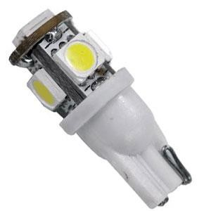 Arcon 50557 #194 12V 3.2 Watt 5-LED Bright White Light Bulb