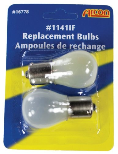Arcon 16778 #1141-IF 12V 17.3W Incandescent Frosted Light Bulb - 2pk