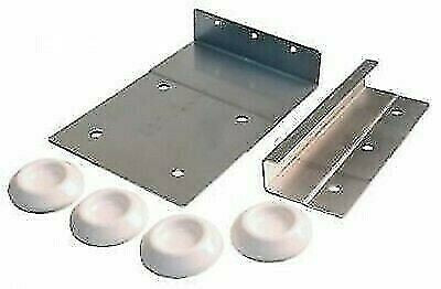 JR Products 06-11845 Stainless Steel Wash/Dryer Stack Kit
