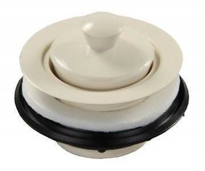 JR Products 95095 White Strainer with Pop-Stop Stopper