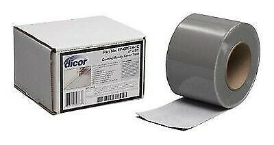 "Dicor RP-CRCT-4-1C 4"" x 50' Metal Roof Coating Tape"