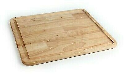 "Camco 43753 17"" x 19-1/2"" Hardwood Stove Topper/Cutting Board With Grooves"