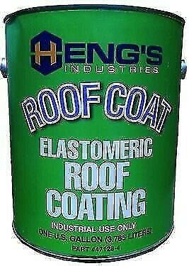 Hengs 47032 White Elastomeric Roof Coating - 1 Quart