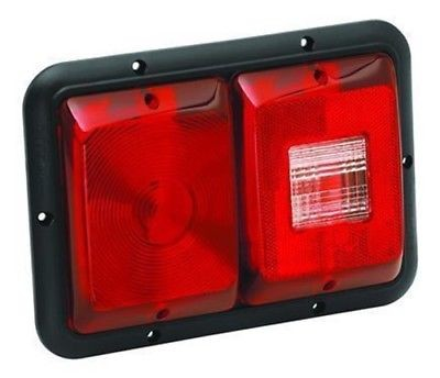 Bargman 34-84-008 #84 Series Horizontal Double Taillight with Black Trim