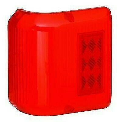Bargman 34-86-711 #86 Series Red Wraparound Clearance Light Repl. Lens