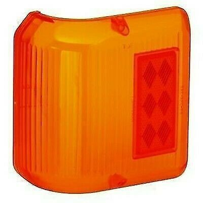 Bargman 34-86-712 #86 Series Amber Wraparound Clearance Light Repl. Lens