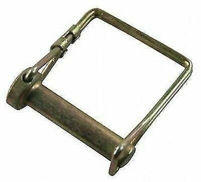 "JR Products 01254 3/8"" x 1-1/2"" Zinc Plated Safety Lock Pin"