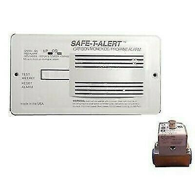 Safe-T-Alert 70-742-R-WT-KIT White Flush Mount CO/Propane Dual Alarm Kit