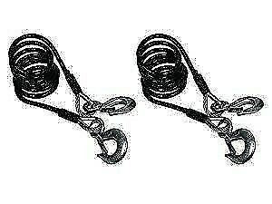 Blue Ox BX88197 7' Class IV 10000lb Safety Cable Kit - 2pk