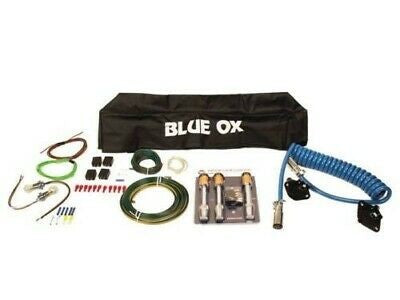 Blue Ox BX88229 6-Wire Towing Kit with Tailight Wiring, Locks and Cover
