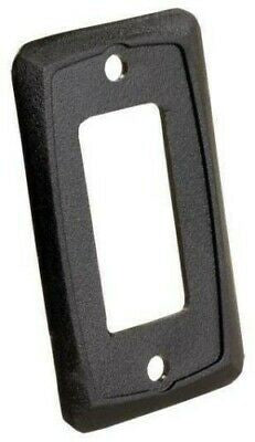 JR Products 13935 Black Furniture Switch Face Plate