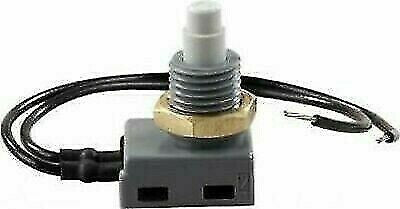 JR Products 13985 Push Button On/Off Switch