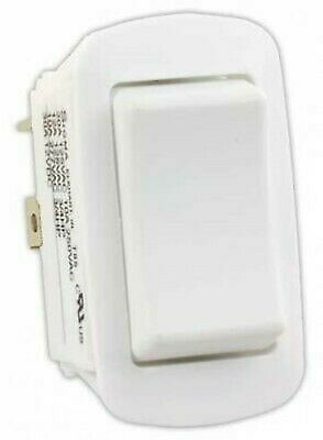 JR Products 13995 White Water Resist. Mom-On/Off/ Mom-On Reversing Switch