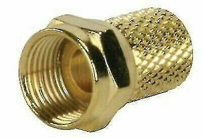 JR Products 47275 TV Coaxial RG6 Twist-on Cable End