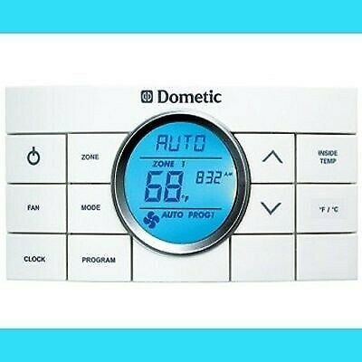 Dometic 3314082.011 Air Conditioner CC II White 10 Button Thermostat