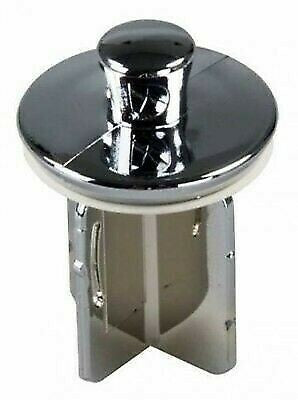 JR Products 95245 Pop-Up Plastic Chrome Drain Stopper