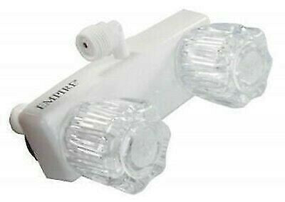 JR Products QQ-SHMI-A Polar White 90 Degree Shower Diverter Valve