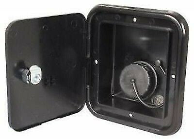 JR Products JFE13-A Black Gravity Water Hatch