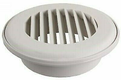 JR Products CG150PW-A CoolVent White Snap-On Ceiling Vent