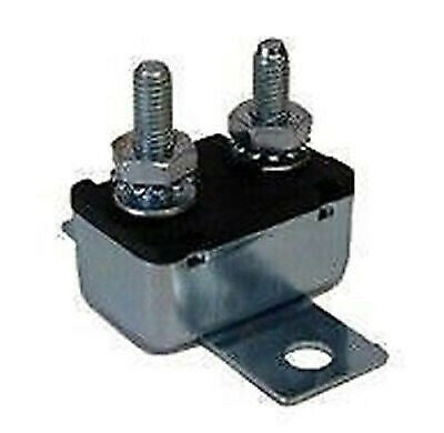 Prime Products 16-3050 50A Metal Auto Reset Circuit Breaker