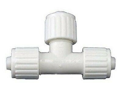 "Elkhart Supply 06831 Flair-it 3/8"" Flare x 3/8"" Flare x 3/8"" Flare Tee"