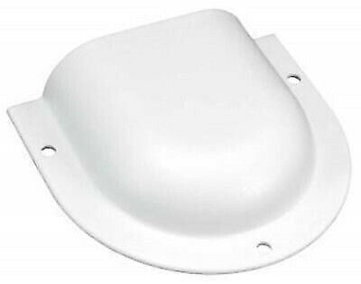 JR Products 298-01-A-PW-A White Horseshoe Vent