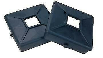"Jr Products 329-A 4-1/4"" Black Bumper Plug with Tabs - 2pk"