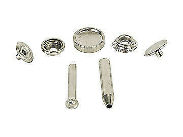 RV Designer A306 Fabric Snap Fastener Kit with Tool - 6pk