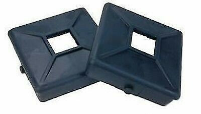 "Jr Products 208-A 4"" Black Bumper Plug with with Tabs"