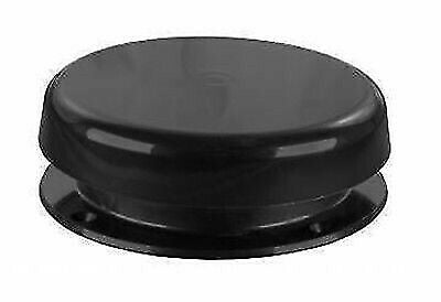 JR Products 02-29115 Black Mushroom Style Plumbing Vent