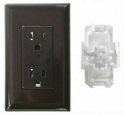Valterra WDR15BR Diamond Brown Dual 120V Receptacle Outlet