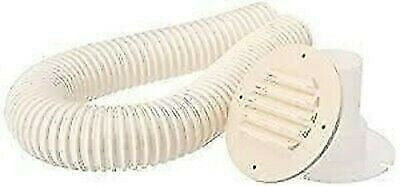"MTS Products 273 Colonial White Battery Box Vent Kit With 30"" Hose"