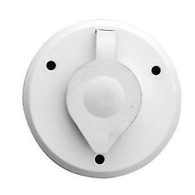 Prime Products 08-6208 White Round Exterior Cable TV Outlet