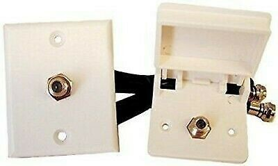 Prime Products 08-6215 White Weatherproof Lead-In Cable TV Kits