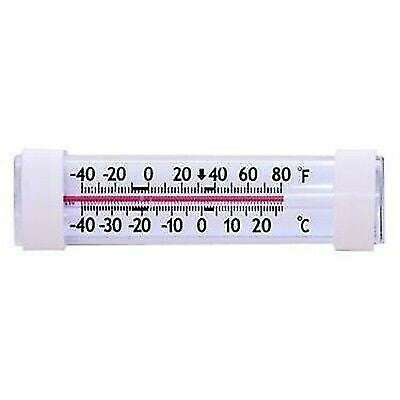 Prime Products 12-3032 Horizontal Analog Refrigerator/Freezer Thermometer