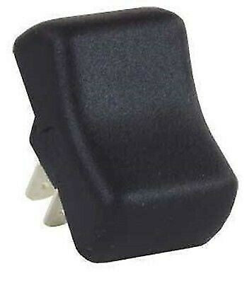 JR Products 14075 Black 3 Pin Mini Momentary-On/Off Switch